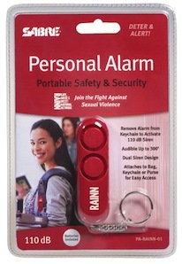 PA-RAINN-01 Sabre Red osobní alarm