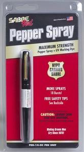 Pen-14-OC Sabre red pepřový sprej pero
